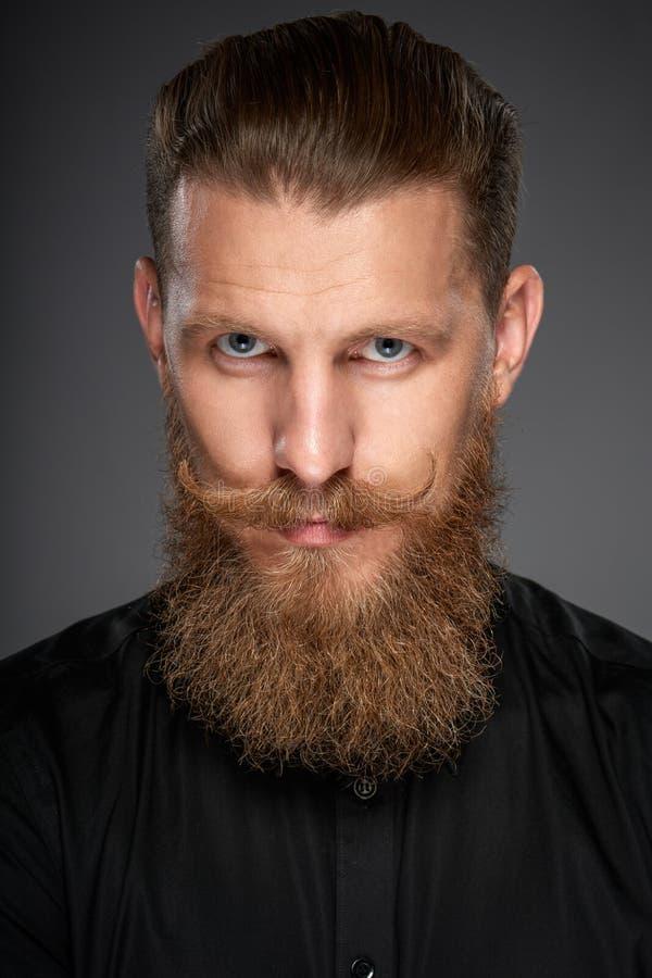 Retrato do close up do homem do moderno imagem de stock