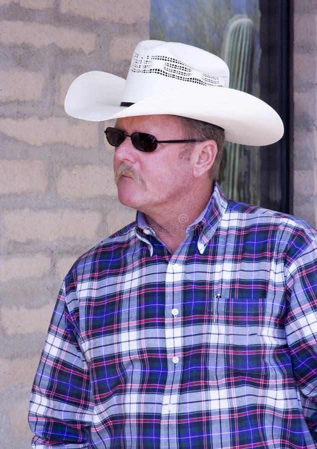 Retrato do cowboy fotos de stock royalty free