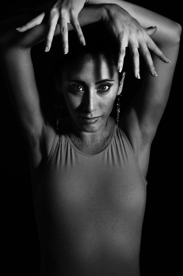 Retrato do dançarino fotografia de stock
