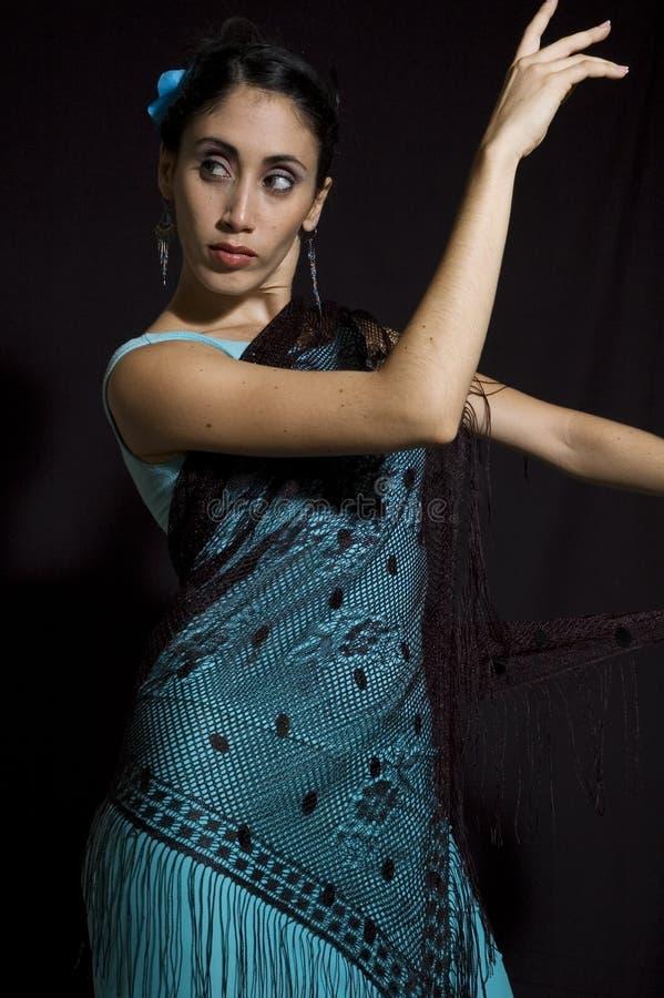 Retrato do dançarino imagens de stock royalty free