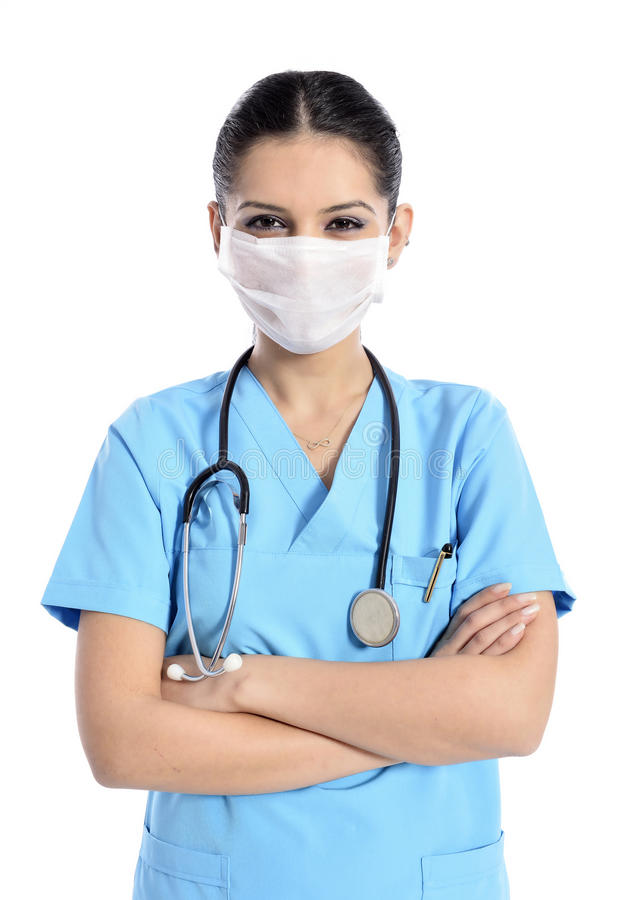 Retrato do doutor/enfermeira fotos de stock royalty free