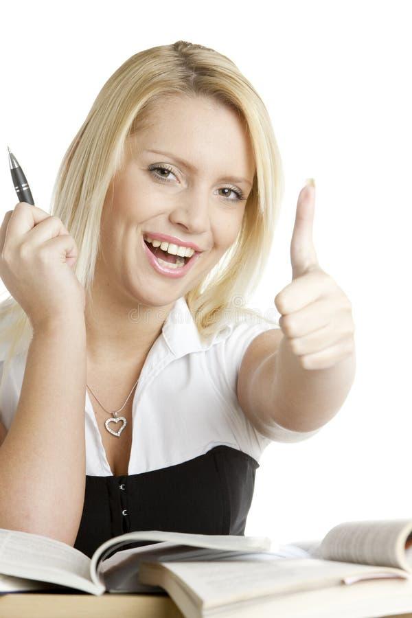 Retrato do estudante foto de stock royalty free