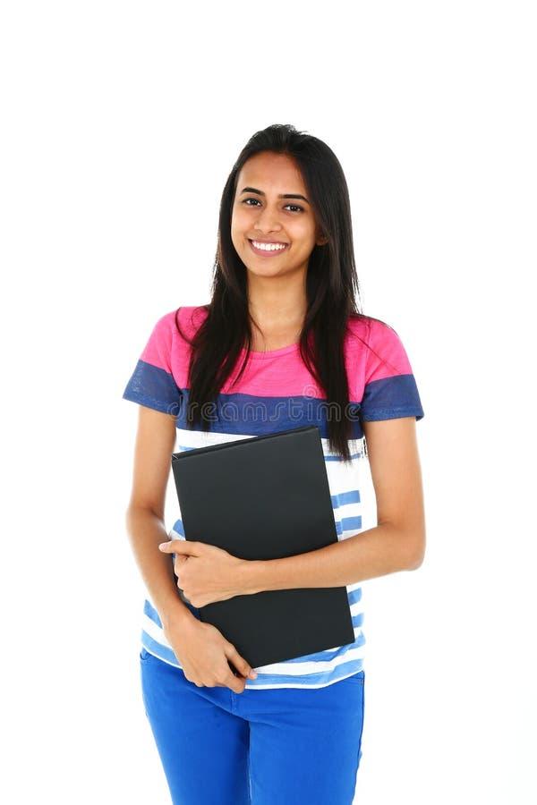 Retrato do estudante asiático novo foto de stock royalty free