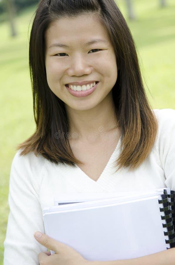 Retrato do estudante fêmea foto de stock royalty free