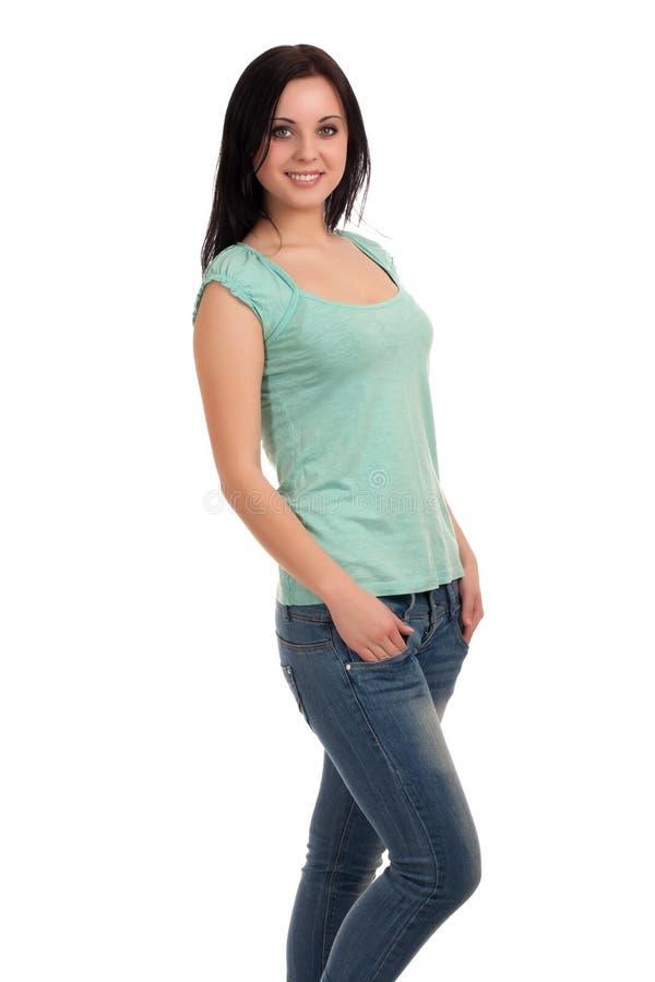 Retrato do estudante fêmea imagens de stock royalty free