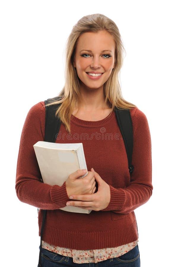 Retrato do estudante novo imagens de stock royalty free