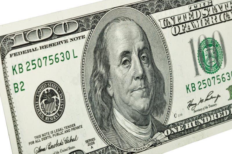 Retrato De Benjamin Franklin Foto de Stock Royalty Free