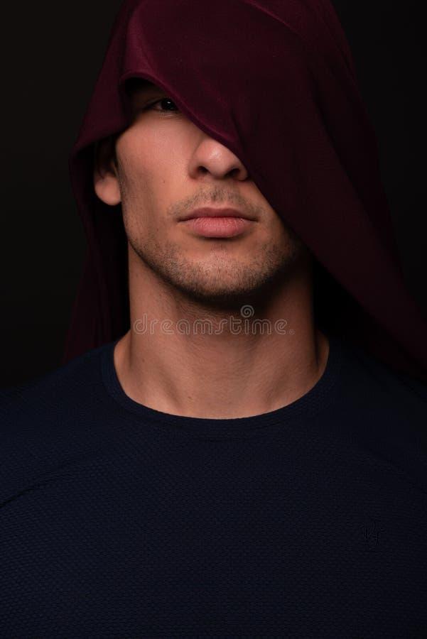 Retrato do halterofilista imagem de stock