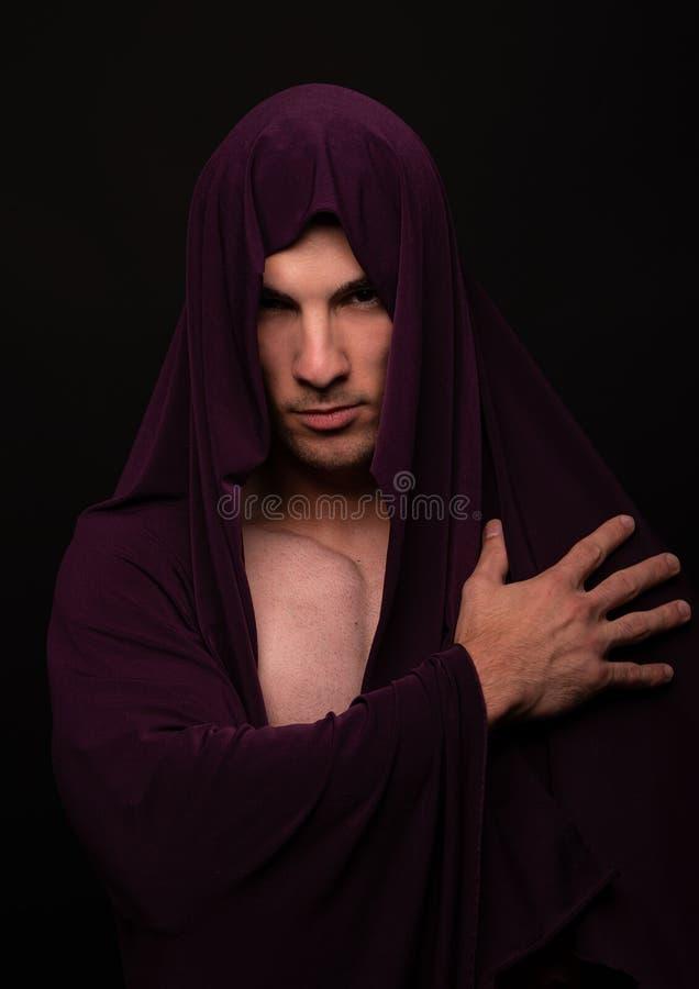 Retrato do halterofilista imagens de stock royalty free