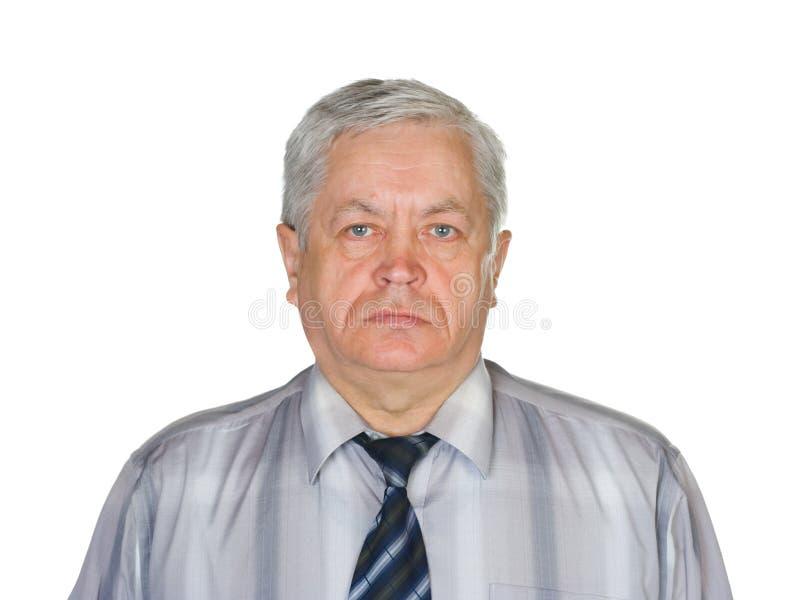 Retrato do homem imagem de stock