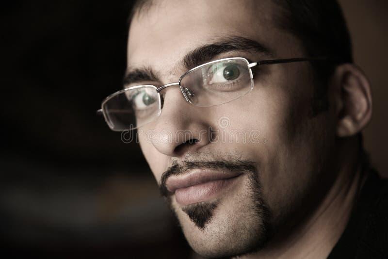 Retrato do homem foto de stock