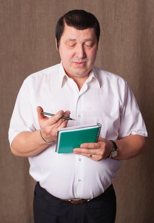 Retrato do homem. foto de stock