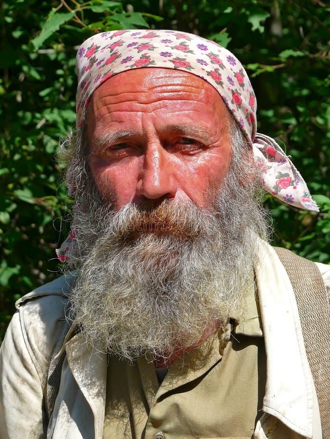 Retrato do homem com barba 9 foto de stock