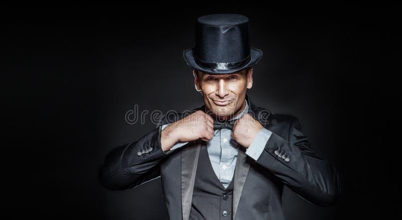 Retrato do homem considerável elegante. fotos de stock royalty free