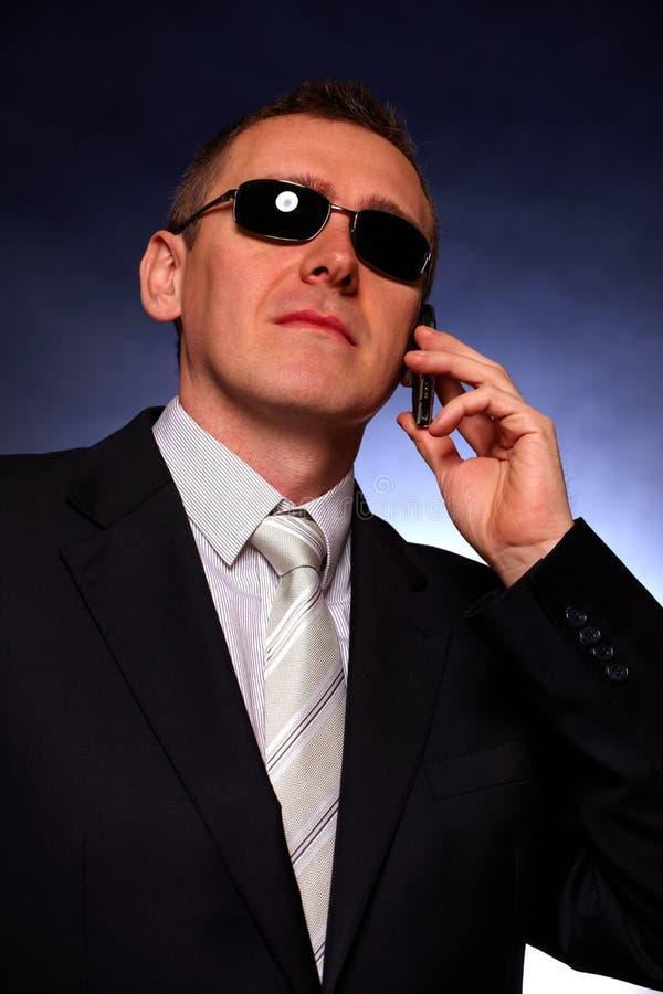 Retrato do homem de negócio foto de stock royalty free