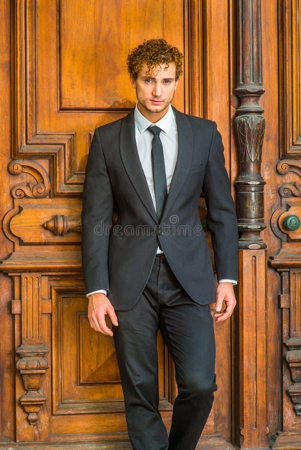 Retrato do homem de negócio clássico 'sexy' fotografia de stock