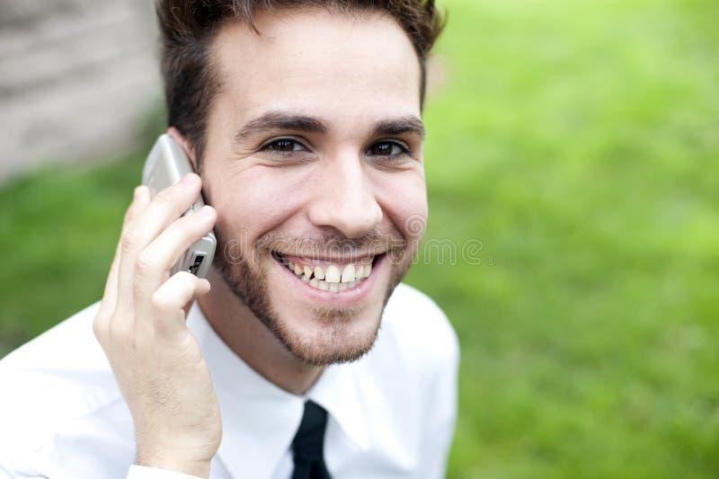 Retrato do homem de negócios fotos de stock
