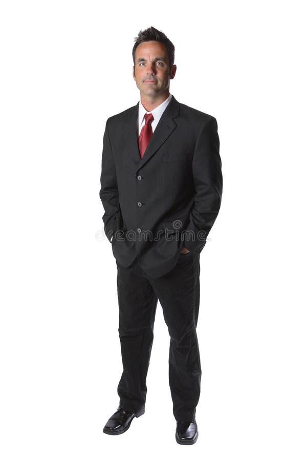 Retrato do homem de negócios imagens de stock