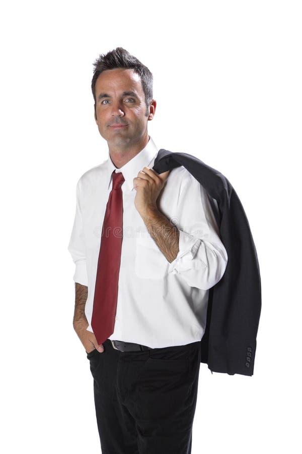 Homem de negócios Portrait imagem de stock