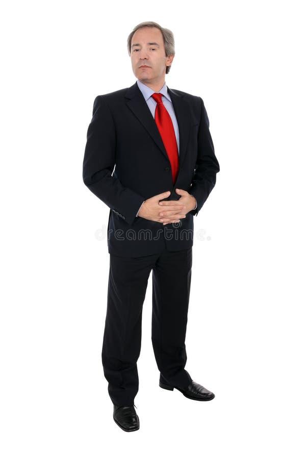 Retrato do homem de negócios fotografia de stock royalty free