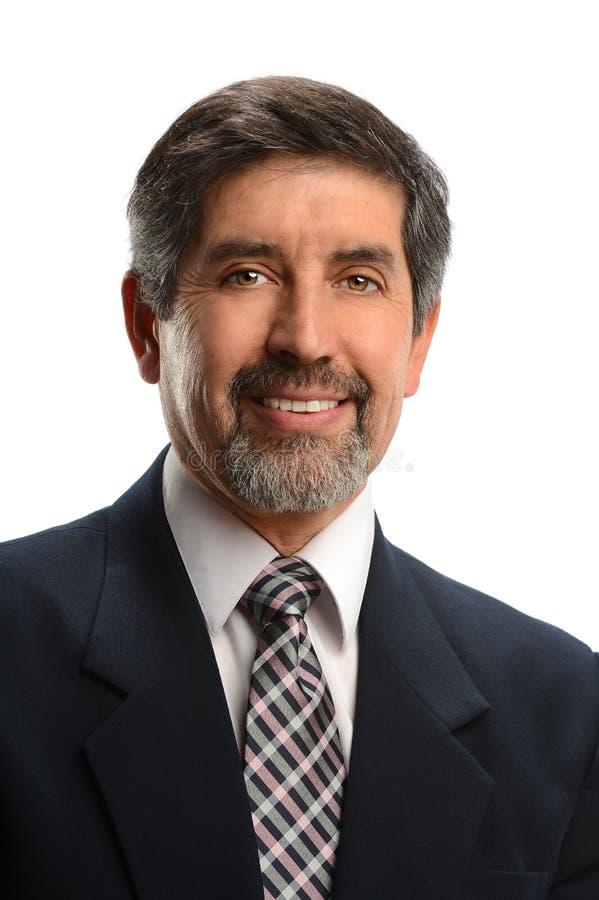 Retrato do homem de negócios latino-americano imagens de stock royalty free