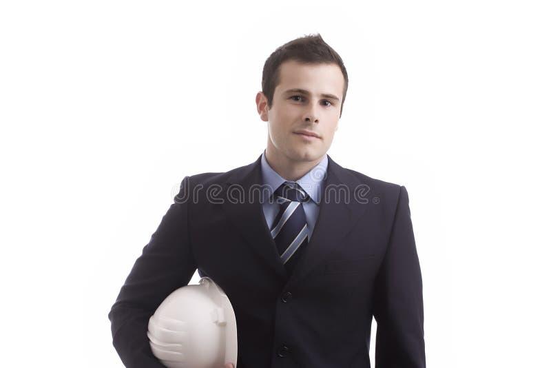 Retrato do homem de negócios novo imagens de stock