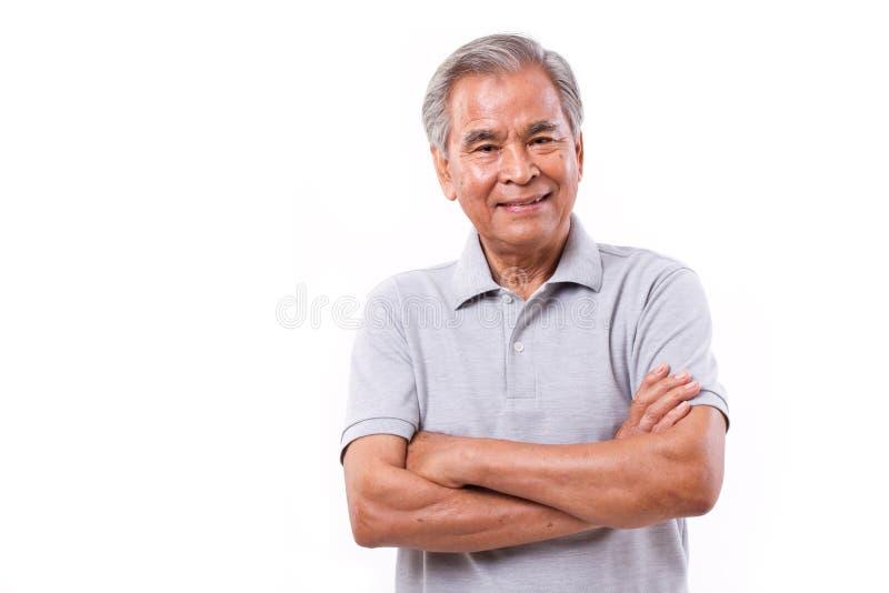 Retrato do homem de sorriso feliz fotos de stock