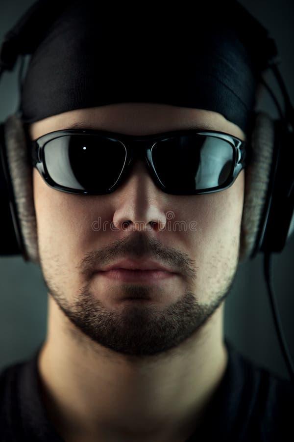 Retrato do homem novo imagens de stock