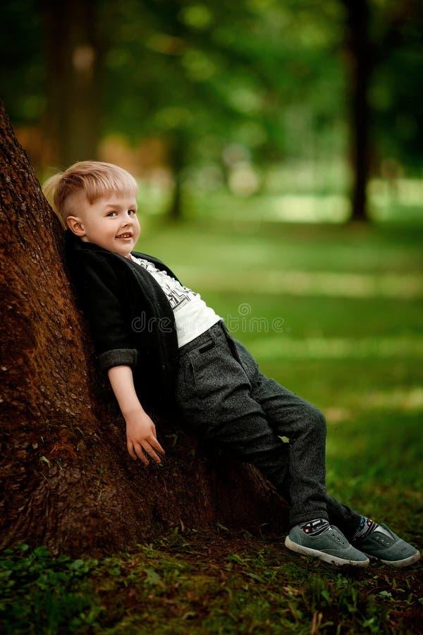 Retrato do menino da criança imagens de stock royalty free