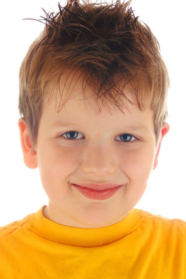 Download Retrato do menino do punk foto de stock. Imagem de idade - 12808376