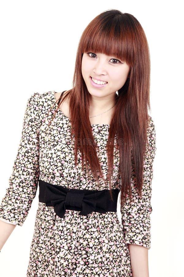 Retrato do modelo asiático foto de stock royalty free
