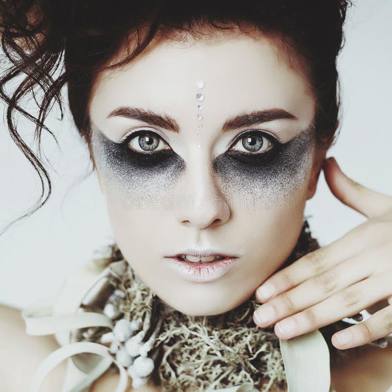 Retrato do modelo 'sexy' bonito novo fotografia de stock royalty free