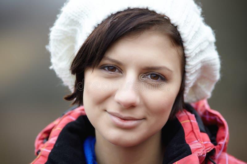 Retrato do mulheres bonitas fora fotografia de stock