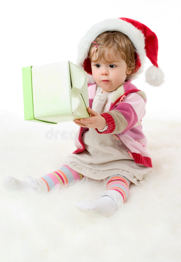 Retrato do Natal imagens de stock royalty free