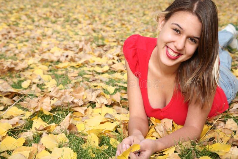 Retrato do outono imagem de stock royalty free