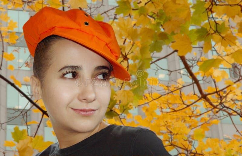Download Retrato do outono imagem de stock. Imagem de felicidade - 61603