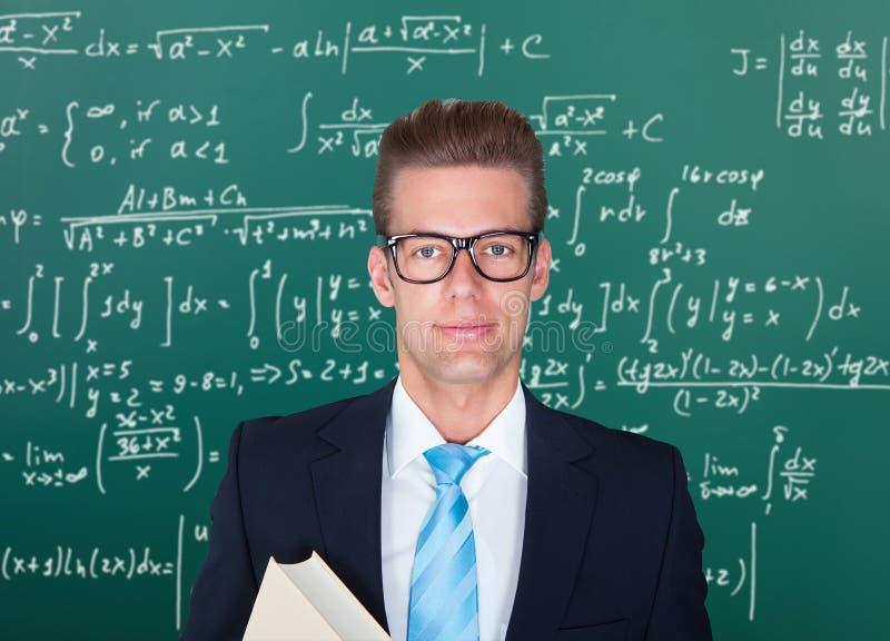 Retrato do professor masculino fotos de stock royalty free