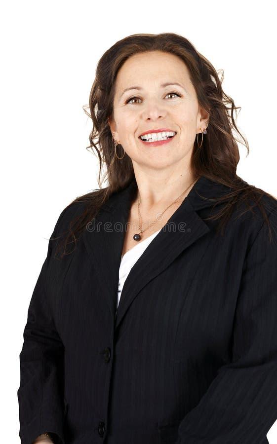Retrato do profissional de sorriso fotografia de stock