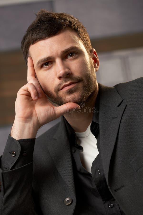 Retrato do profissional novo fotos de stock