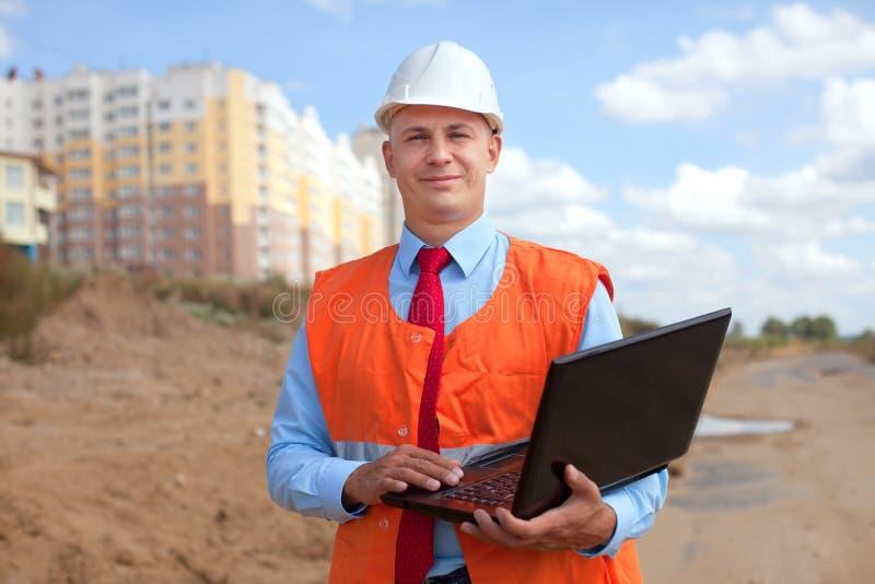 Retrato do trabalhador de colar branco imagens de stock