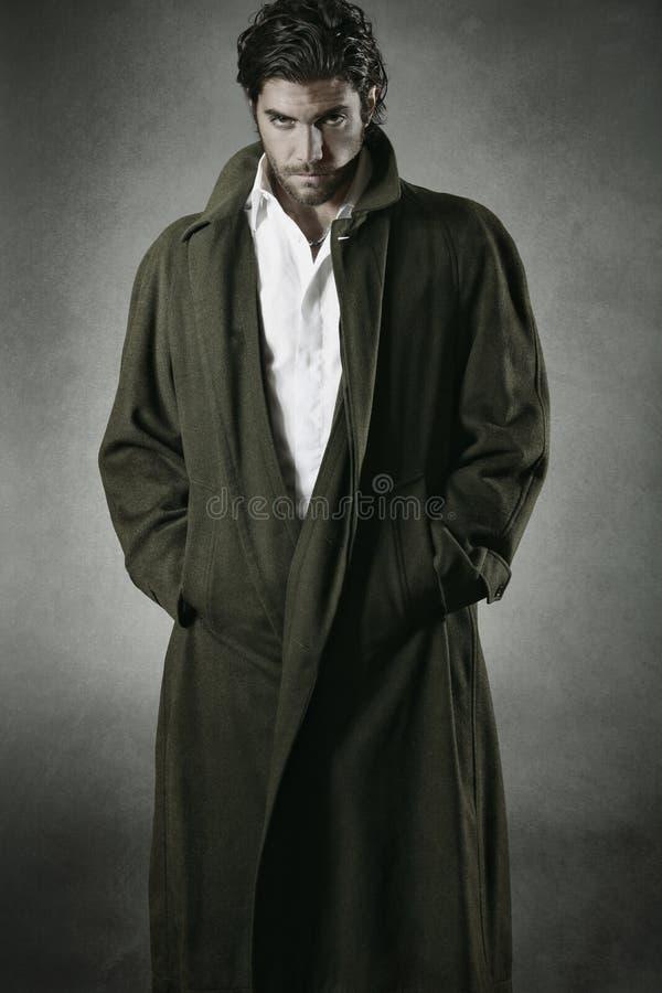 Retrato do vampiro fotografia de stock royalty free