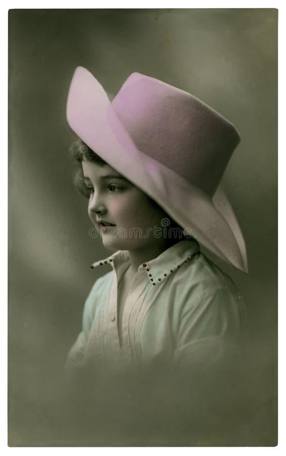 Retrato do vintage. fotos de stock royalty free