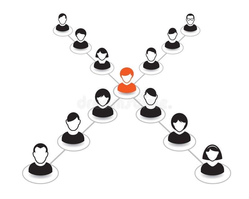 Download Retrato E ícone Humanos Ilustração Do Vetor Equipe Do Escritório Ilustração Stock - Ilustração de negócio, comércio: 65577409