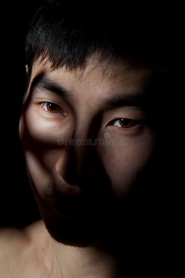 Retrato emocional fotos de stock royalty free
