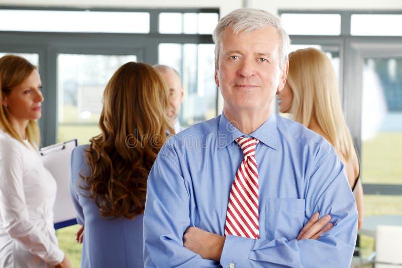 Retrato executivo do gerente fotos de stock royalty free