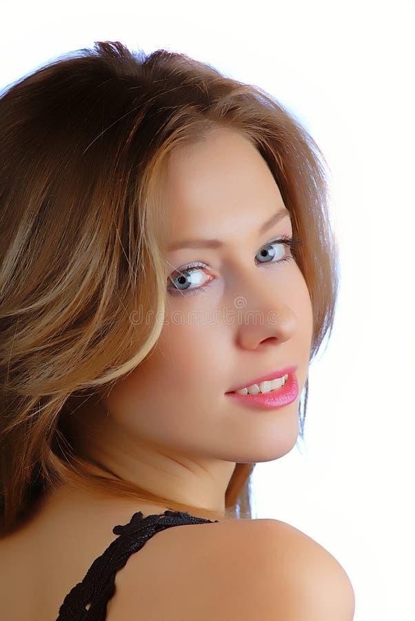 Retrato fêmea fotografia de stock