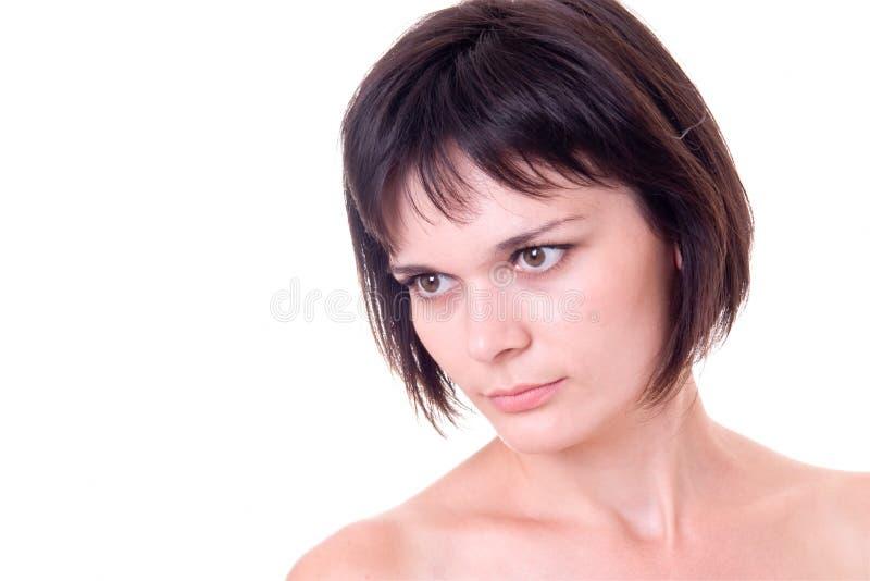 Retrato fêmea imagens de stock royalty free