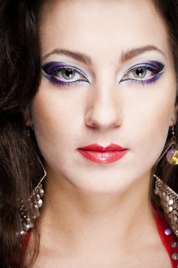 Retrato fêmea da forma fotografia de stock royalty free