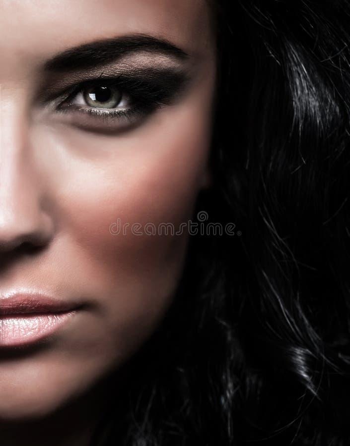 Retrato fêmea elegante fotos de stock