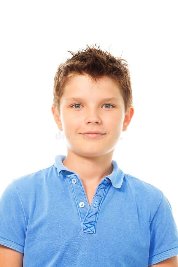 Retrato feliz do menino fotografia de stock royalty free